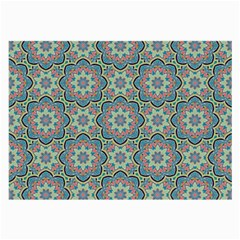 Decorative Ornamental Geometric Pattern Large Glasses Cloth by TastefulDesigns