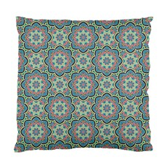 Decorative Ornamental Geometric Pattern Standard Cushion Case (two Sides) by TastefulDesigns