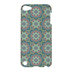 Decorative Ornamental Geometric Pattern Apple Ipod Touch 5 Hardshell Case by TastefulDesigns