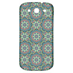 Decorative Ornamental Geometric Pattern Samsung Galaxy S3 S Iii Classic Hardshell Back Case by TastefulDesigns
