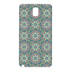 Decorative Ornamental Geometric Pattern Samsung Galaxy Note 3 N9005 Hardshell Back Case by TastefulDesigns