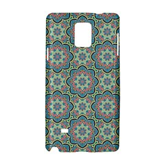 Decorative Ornamental Geometric Pattern Samsung Galaxy Note 4 Hardshell Case by TastefulDesigns