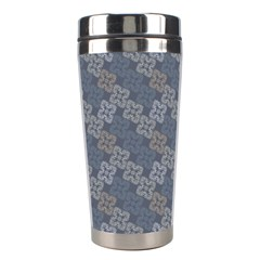 Decorative Ornamental Geometric Pattern Stainless Steel Travel Tumblers by TastefulDesigns