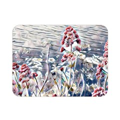 Port Flowers Double Sided Flano Blanket (mini)  by DeneWestUK