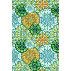 Forest Spirits  Green Mandalas  5 5  X 8 5  Notebook by bunart