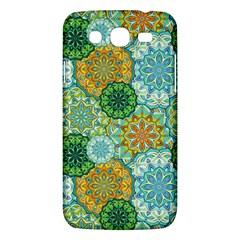 Forest Spirits  Green Mandalas  Samsung Galaxy Mega 5 8 I9152 Hardshell Case  by bunart