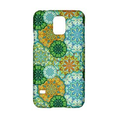 Forest Spirits  Green Mandalas  Samsung Galaxy S5 Hardshell Case  by bunart