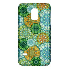 Forest Spirits  Green Mandalas  Samsung Galaxy S5 Mini Hardshell Case  by bunart