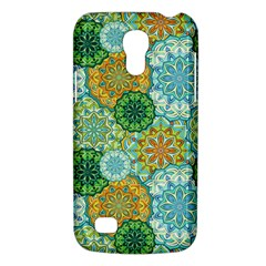 Forest Spirits  Green Mandalas  Samsung Galaxy S4 Mini (gt I9190) Hardshell Case  by bunart