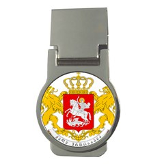 Greater Coat Of Arms Of Georgia Money Clips (round)  by abbeyz71