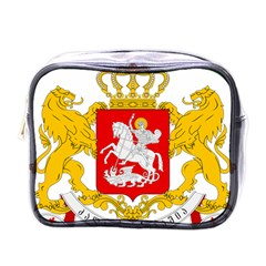 Greater Coat Of Arms Of Georgia Mini Toiletries Bags by abbeyz71