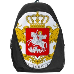 Greater Coat Of Arms Of Georgia Backpack Bag by abbeyz71
