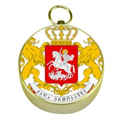 Greater Coat Of Arms Of Georgia Gold Compasses by abbeyz71
