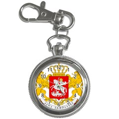 Greater Coat Of Arms Of Georgia  Key Chain Watches by abbeyz71