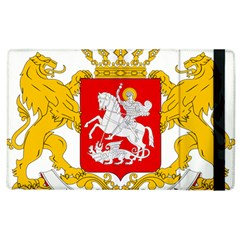 Greater Coat Of Arms Of Georgia  Apple Ipad 3/4 Flip Case by abbeyz71