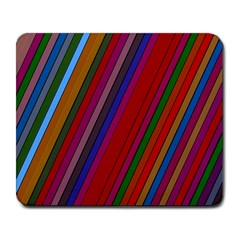 Color Stripes Pattern Large Mousepads by Simbadda