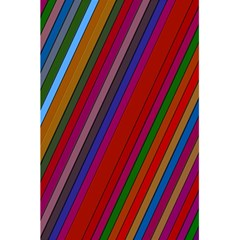 Color Stripes Pattern 5 5  X 8 5  Notebooks by Simbadda