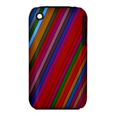 Color Stripes Pattern Iphone 3s/3gs by Simbadda