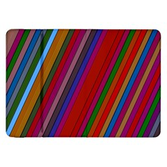 Color Stripes Pattern Samsung Galaxy Tab 8 9  P7300 Flip Case by Simbadda