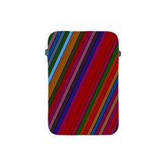 Color Stripes Pattern Apple Ipad Mini Protective Soft Cases by Simbadda