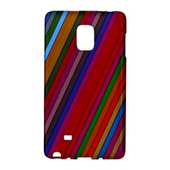 Color Stripes Pattern Galaxy Note Edge by Simbadda