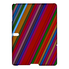 Color Stripes Pattern Samsung Galaxy Tab S (10 5 ) Hardshell Case  by Simbadda