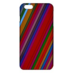 Color Stripes Pattern Iphone 6 Plus/6s Plus Tpu Case by Simbadda