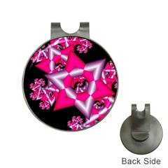Star Of David On Black Hat Clips With Golf Markers by Simbadda