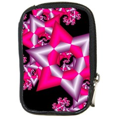 Star Of David On Black Compact Camera Cases by Simbadda