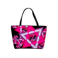 Star Of David On Black Shoulder Handbags by Simbadda
