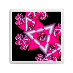 Star Of David On Black Memory Card Reader (square)  by Simbadda