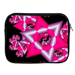 Star Of David On Black Apple Ipad 2/3/4 Zipper Cases by Simbadda