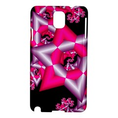 Star Of David On Black Samsung Galaxy Note 3 N9005 Hardshell Case by Simbadda