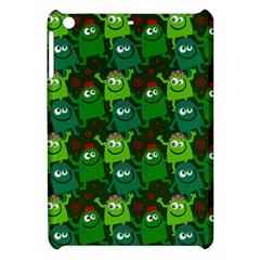 Seamless Little Cartoon Men Tiling Pattern Apple Ipad Mini Hardshell Case by Simbadda