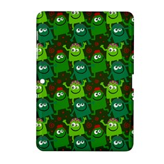 Seamless Little Cartoon Men Tiling Pattern Samsung Galaxy Tab 2 (10 1 ) P5100 Hardshell Case  by Simbadda