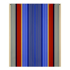 Colorful Stripes Background Shower Curtain 60  X 72  (medium)  by Simbadda