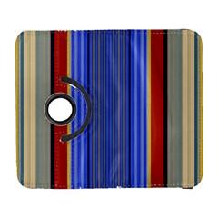 Colorful Stripes Background Galaxy S3 (flip/folio) by Simbadda