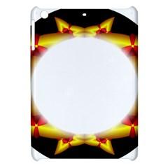 Circle Fractal Frame Apple Ipad Mini Hardshell Case by Simbadda