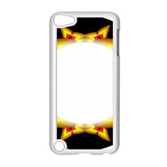 Circle Fractal Frame Apple Ipod Touch 5 Case (white) by Simbadda