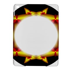 Circle Fractal Frame Ipad Air 2 Hardshell Cases by Simbadda