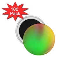 November Blurry Brilliant Colors 1 75  Magnets (100 Pack)  by Simbadda