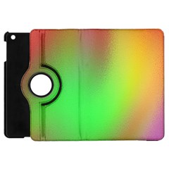 November Blurry Brilliant Colors Apple Ipad Mini Flip 360 Case by Simbadda