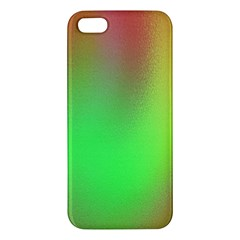 November Blurry Brilliant Colors Apple Iphone 5 Premium Hardshell Case by Simbadda