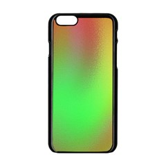 November Blurry Brilliant Colors Apple Iphone 6/6s Black Enamel Case by Simbadda