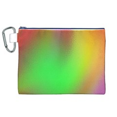 November Blurry Brilliant Colors Canvas Cosmetic Bag (xl) by Simbadda
