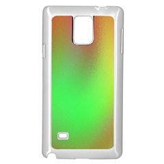 November Blurry Brilliant Colors Samsung Galaxy Note 4 Case (white) by Simbadda