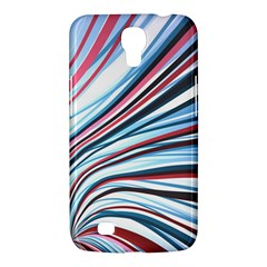 Wavy Stripes Background Samsung Galaxy Mega 6 3  I9200 Hardshell Case by Simbadda