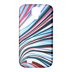 Wavy Stripes Background Samsung Galaxy S4 Classic Hardshell Case (pc+silicone) by Simbadda