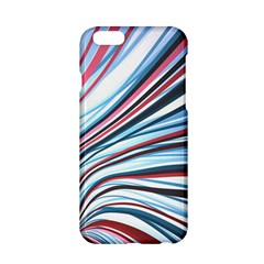 Wavy Stripes Background Apple Iphone 6/6s Hardshell Case by Simbadda