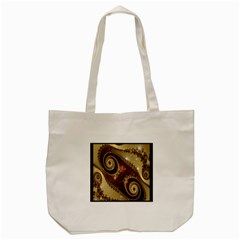 Space Fractal Abstraction Digital Computer Graphic Tote Bag (cream) by Simbadda